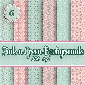 6-pink-n-green-backgrounds