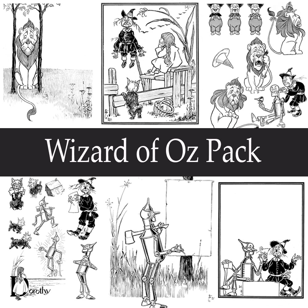 how to pack up wizard of oz