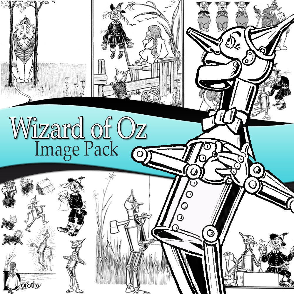 Wizard of Oz Image Pack
