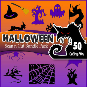 Brother Scan n Cut Halloween Bundle Pack