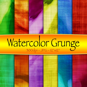 Water Color Grunge Backgrounds