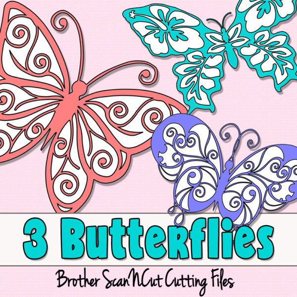 butterfly scanncut cutting files