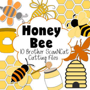 honeybee brother scan n cut cutting files