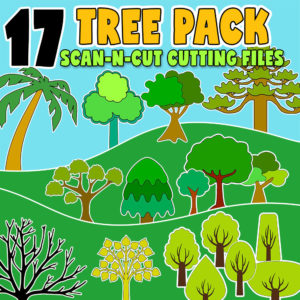 tree scanncut cutting files fcm