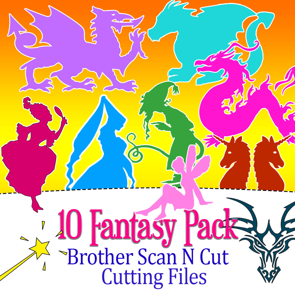 Brother ScannCut Fantasy Pack